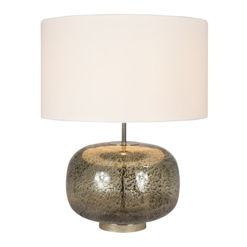 Jackie Table Lamp Vulkanic Smoke Grey New Arrivals Elements Of Design