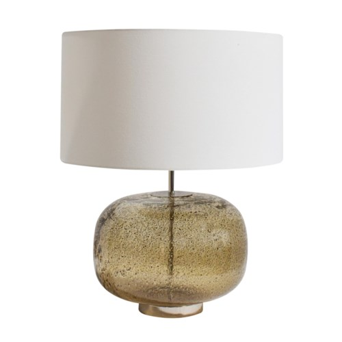 Jackie Table Lamp - Vulkanic - Smoke Brown