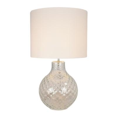 Augustus Table Lamp - Optic Diamond Effect in Transparent