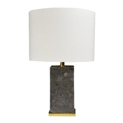 Cara Lamp - Grey Marble