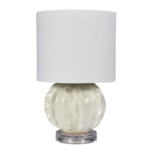 Arlo Table Lamp - Ivory