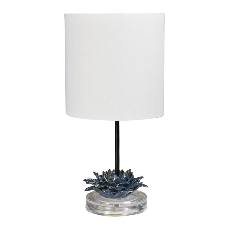 Kia Table Lamp - Navy Blue