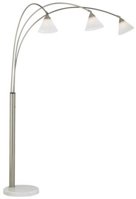 ARCHWAY - BRUSHED STEEL (85-3882-99)