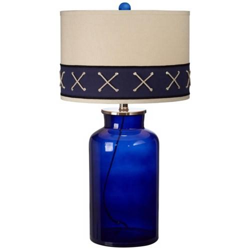 SAIL AHOY TABLE LAMP (87-7422-34)