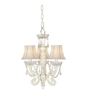 CHATEAU MINI CHANDELIER (84-7957-7W)
