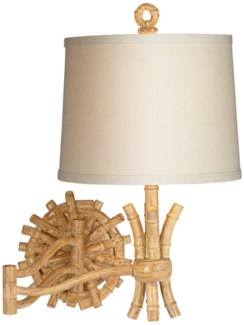 BAMBOO SAILOR SCONCE (89-5914-48)