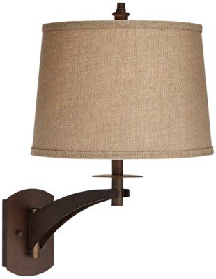 RUMMEL SWING ARM WALL LAMP (89-5923-20)