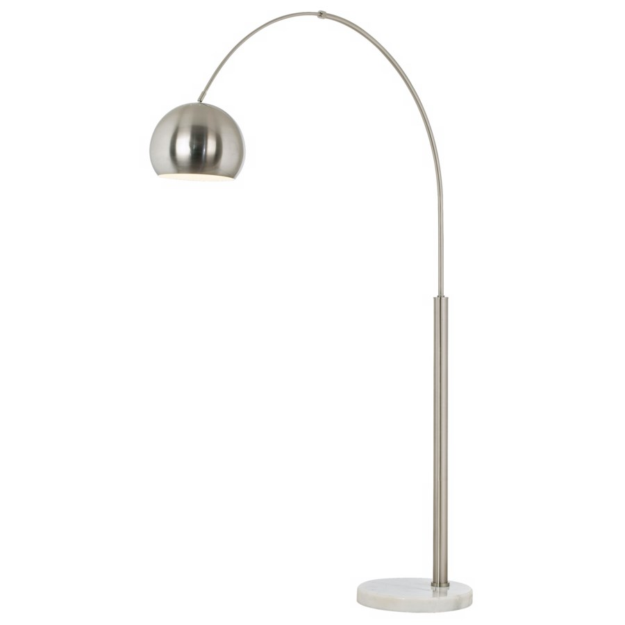 BASQUE FLOOR ARC LAMP-NICKEL (85-2315-99)