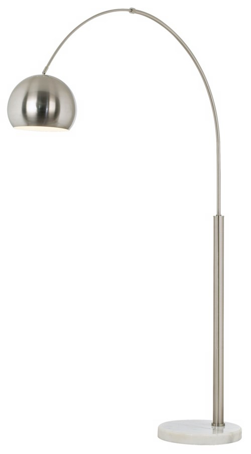 BASQUE FLOOR ARC LAMP-NICKEL (85-2315-99)