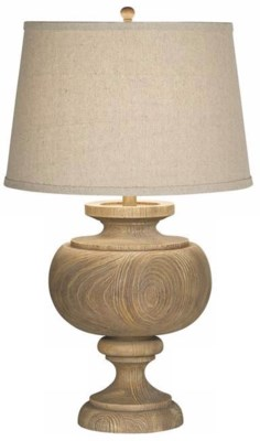 GRAND MAISON LARGE TABLE LAMP-GREY (87-6518-9C)