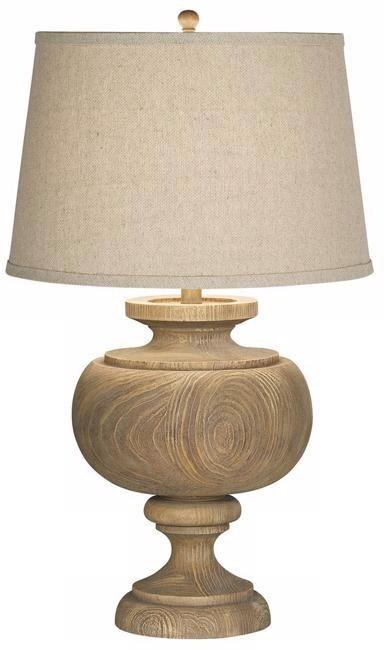 GRAND MAISON LARGE TABLE LAMP-GREY (87-6518-9C)