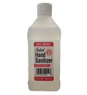 Instant Hand Sanitizer - Kills 99% of Germs - 12 Fl. Oz.
