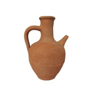 Clay Water Jug 1 liter natural
