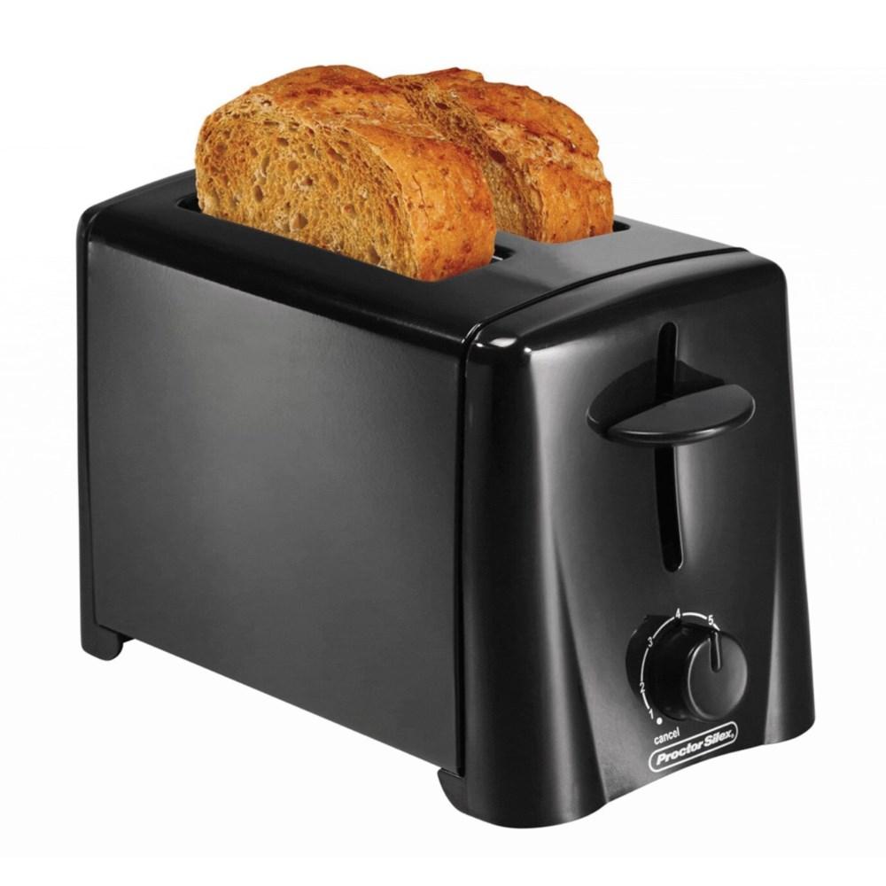 Proctor Silex 2-Slice Toaster Black