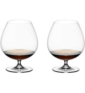 Angela - Bohemia Cognac Glass w/Stem 6pc Set  400ml