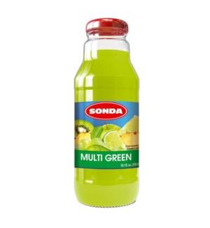 Sonda Multigreen 30% Juice 300ml - 10oz - Made in Poland