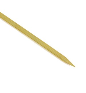 "Bamboo BBQ Skewer  Flat 15.5X0.5"" 25pc Set"