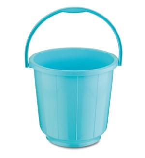 Bucket Plastic/Handle 16L Blue