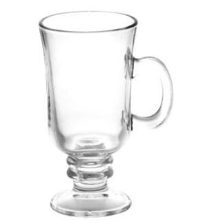 Glass Irish Mug 6pc Set 8oz