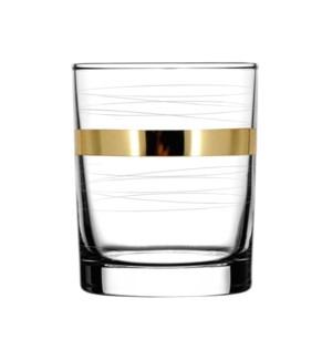 D.O.F. Glass - Mirage Pattern - 6pc Set