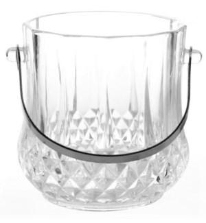 Glass Ice Bucket - Large