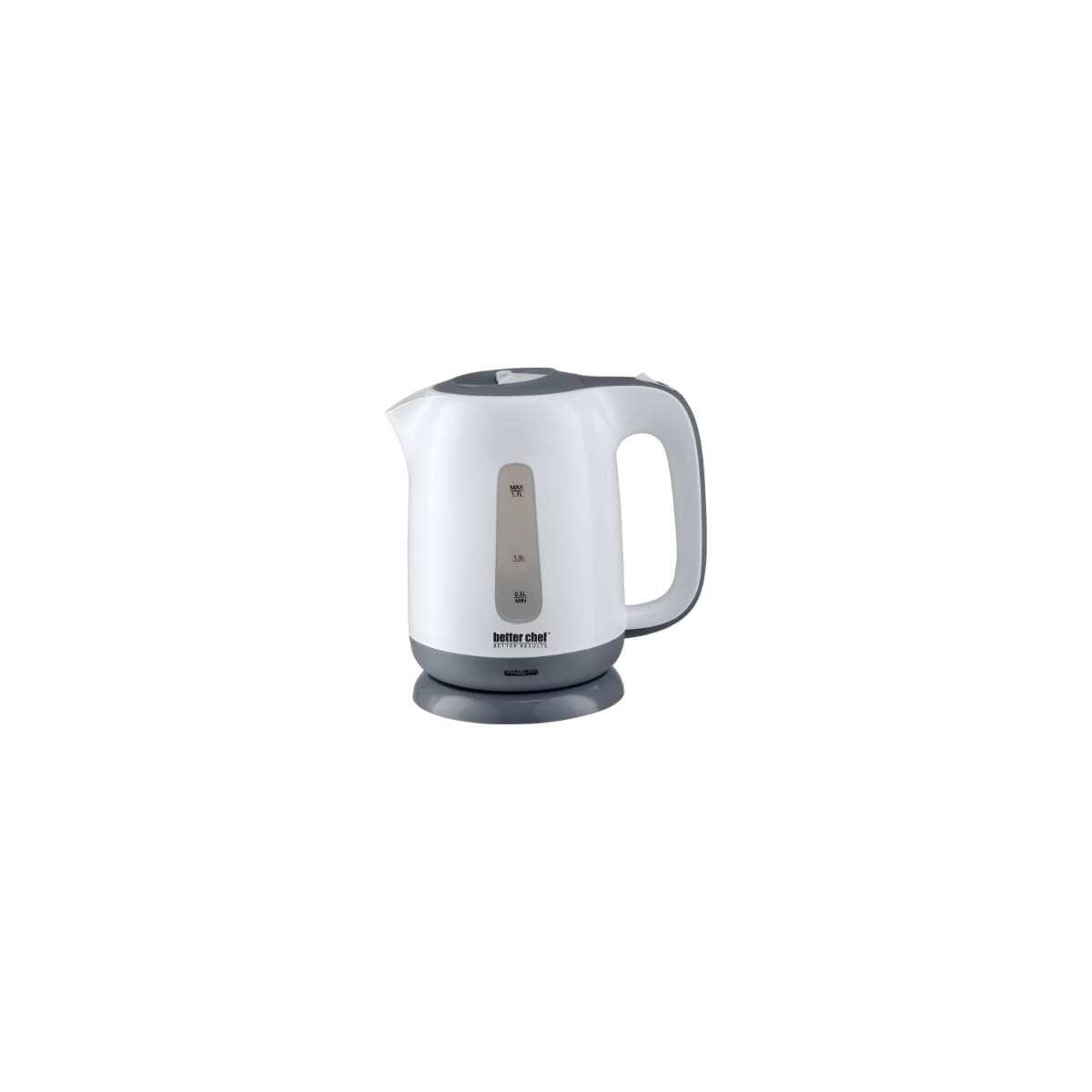 Cordless Electric Kettle White/Gray 1.7Litre