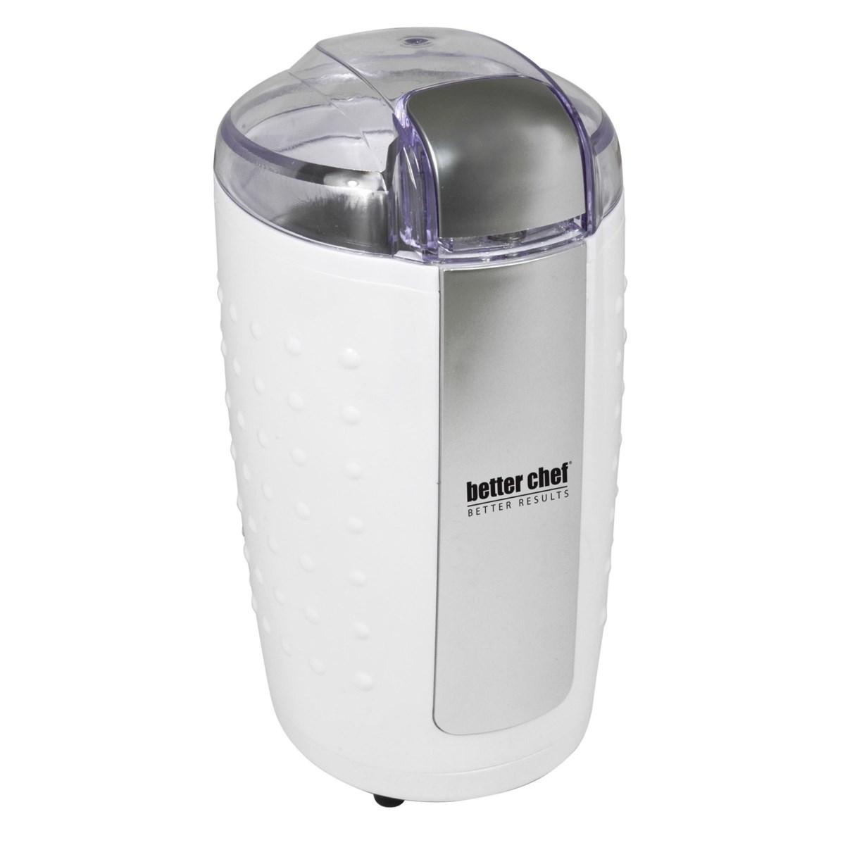 Better Chef 150-watt Coffee Grinder White