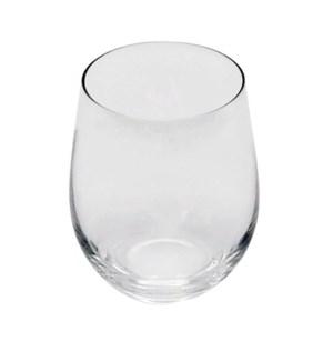 D.O.F. Lead Free Crstl Clear Glass 6pcs