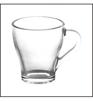 Tea Glass Clear 6pc Set 9.5oz