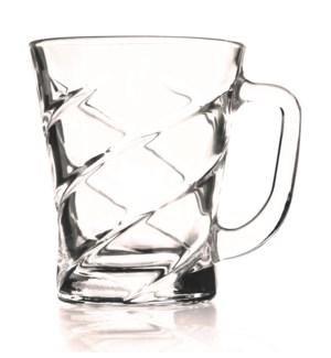 Tea Glass Lines 6pc Set  7oz