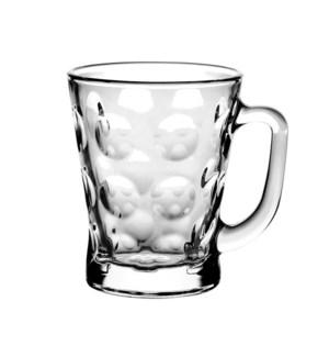 Tea Glass Polka Dot 6pc Set 7oz