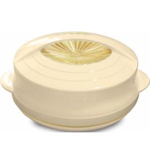 Food Thermos Plastic/SS 8.5QT Beige