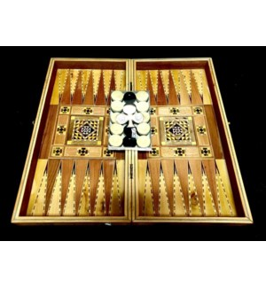 Backgammon Play set Made In Syria