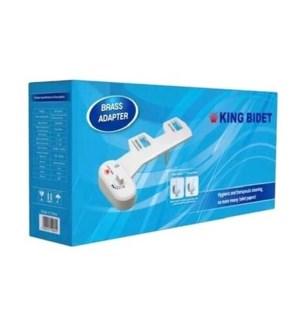 King Bidet Cold Water ABS Brass Adaptor