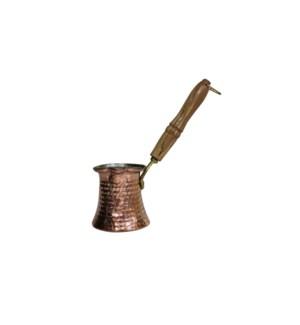 Coffee Warmer Copper w/Wood Handle-300ml