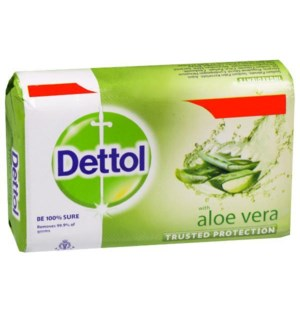 Dettol Aloe Vera Bar-Soap 105g
