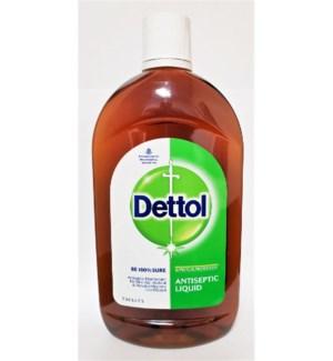 Antiseptic Liquid - Dettol - 125ml (4.23 Fl.oz.)