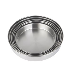 Baking Tray 3pc Set S/S 28/32/36 cm