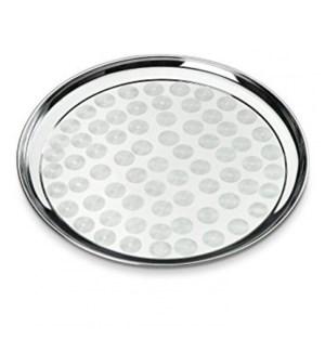 Round Tray S/S 35cm80pc/case