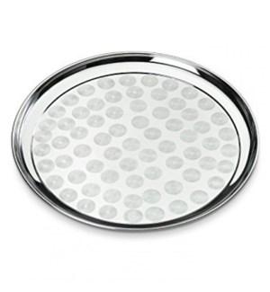 Round Tray S/S 40cm60pc/case