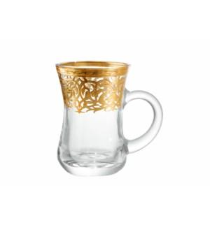 6pc Tea Glass Set 5.5oz-Branches-Window Box