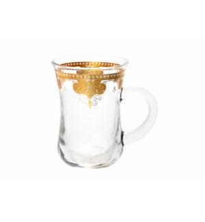 6pc Tea Glass Set 5.5oz-Royal-Window Box