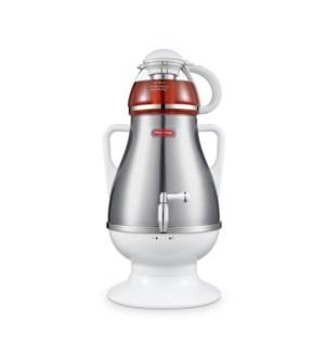 Elec. Samovar 3.2L+Glass Teapot Wte