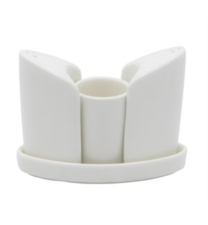 Salt&Pepper 4pc Set - Porcelain