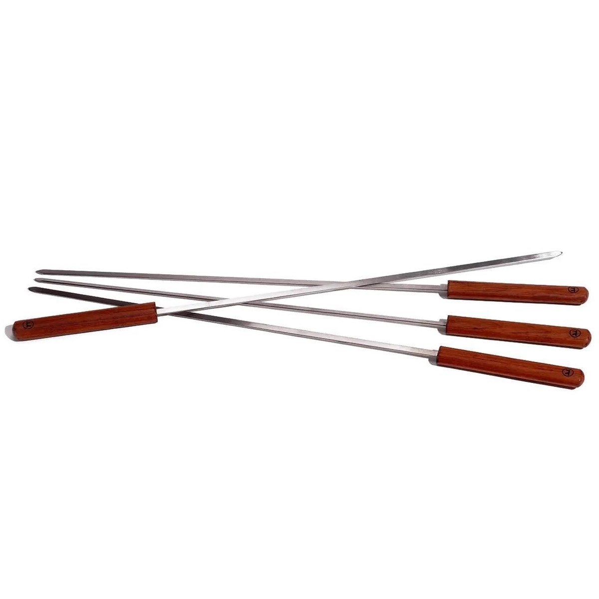 BBQ Skewer 1/4in 2mm/1x60cm (24in) Wood Handle