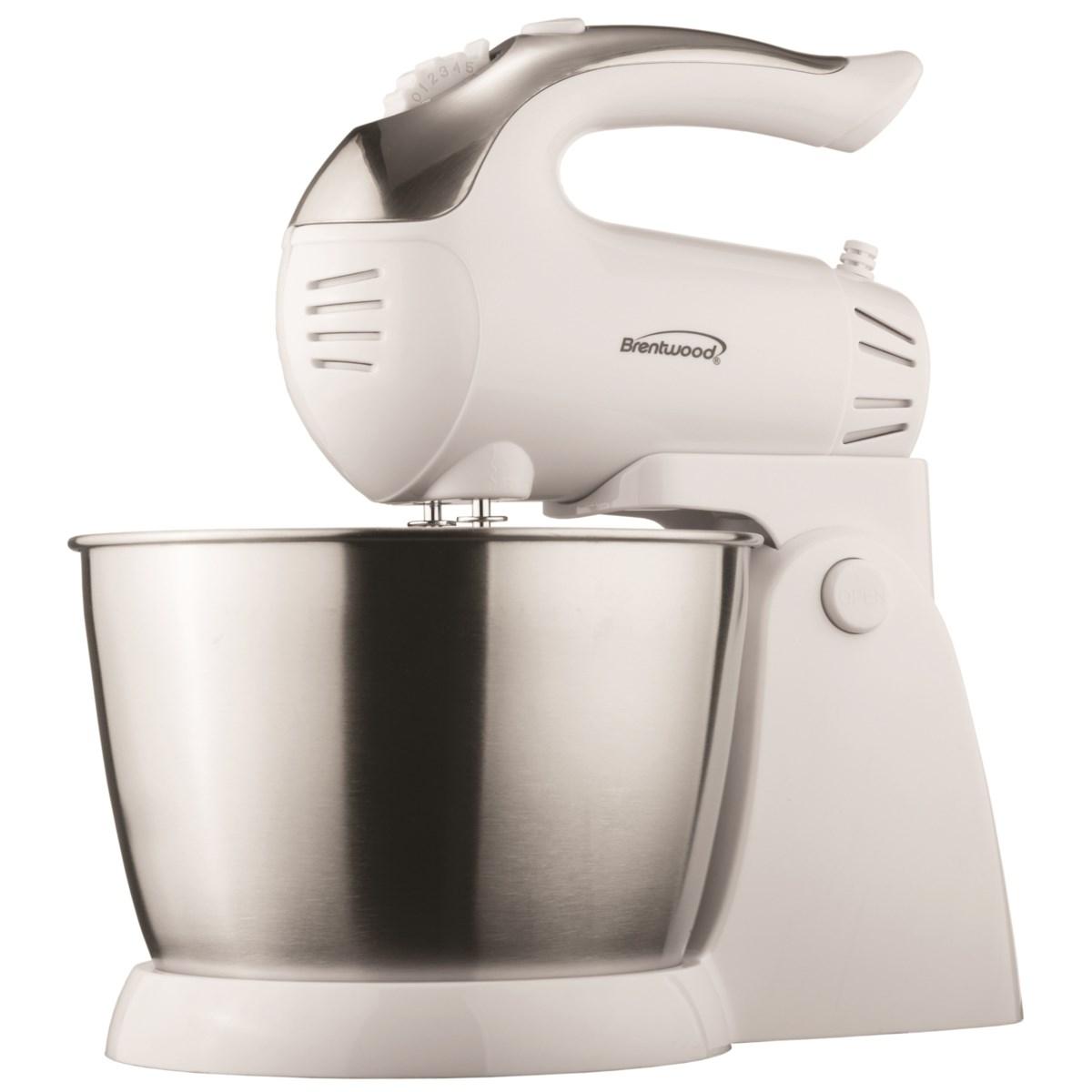 Stand Mixer 3.1QT S/S Mixing Bowl 200W cETL Wte