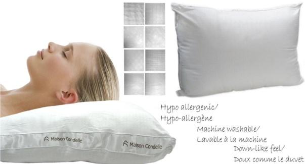 Logo Gusset Pillow 19x29