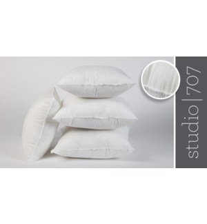 "Non Woven pillow shell fillers 18x18"" 20/b"