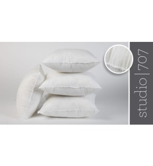 "Non Woven pillow shell fillers 20x20"" 12/b"