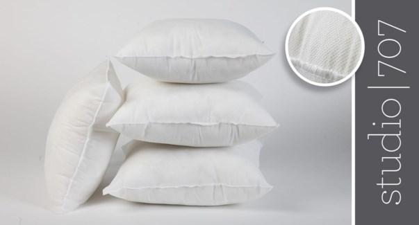 """Non Woven pillow shell fillers 22x22""""  12/b"""